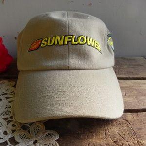 Sunflower Farming Implement Hat Cap Baseball